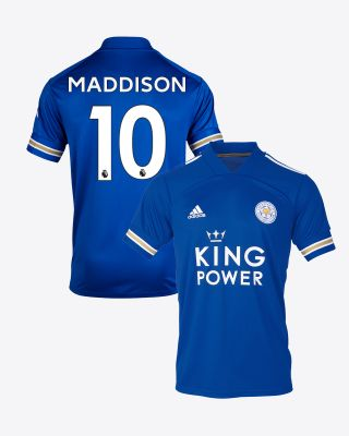 James Maddison - Leicester City King Power Home Shirt 2020/21