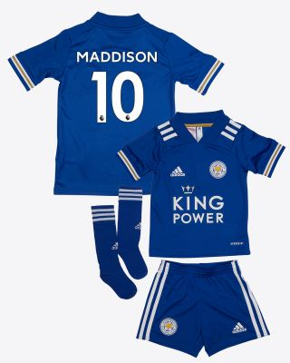 James Maddison - Leicester City King Power Home Shirt 2020/21 - Mini Kit