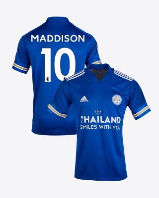James Maddison - Leicester City TSWY Home Shirt 2020/21 - Kids