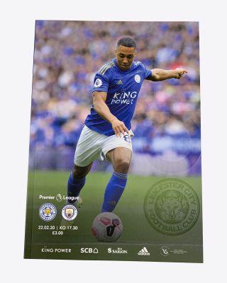 Matchday Magazine - LCFC v Manchester City