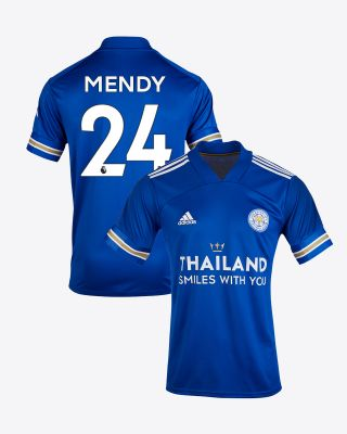 Nampalys Mendy - Leicester City TSWY Home Shirt 2020/21