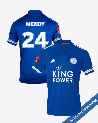 Nampalys Mendy - Leicester City King Power Home Shirt 2020/21 - FA CUP