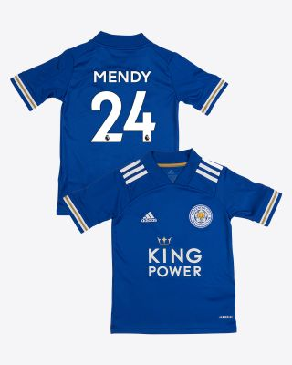 Nampalys Mendy - Leicester City King Power Home Shirt 2020/21 - Kids