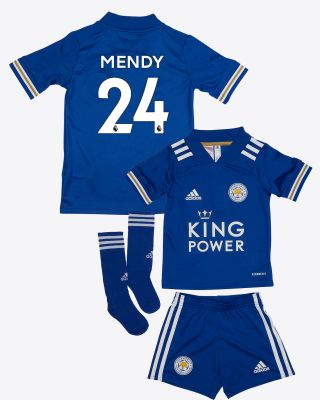 Nampalys Mendy - Leicester City King Power Home Shirt 2020/21 - Mini Kit