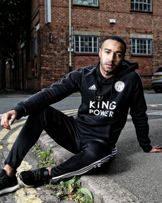 2019/20 adidas Leicester City Adult Black Hoody