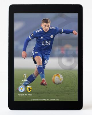 Digital Matchday Magazine UEL - Leicester City v AEK Athens