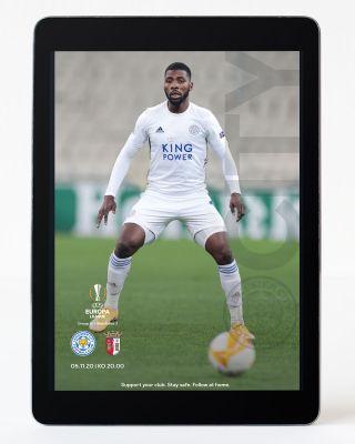 Digital Matchday Magazine UEL - Leicester City v SC Braga