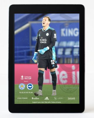 Digital Matchday Magazine FA Cup - Leicester City v Brighton