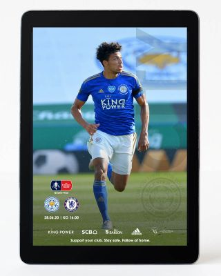 Digital Matchday Magazine FA Cup - Leicester City v Chelsea
