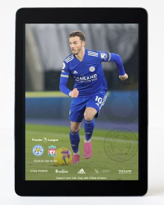 Digital Matchday Magazine - Leicester City v Liverpool
