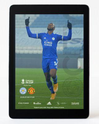 Digital Matchday Magazine -Leicester City v Man U FC Cup