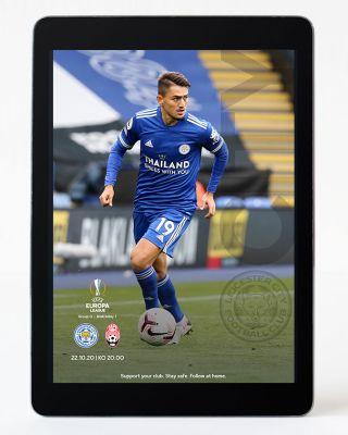 Digital Matchday Magazine UEL - Leicester City v Zorya Luhan