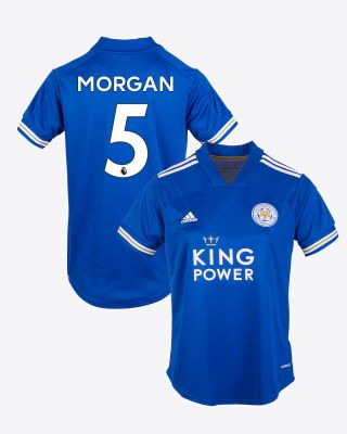 Wes Morgan - Leicester City King Power Home Shirt 2020/21 - Womens