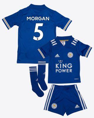 Wes Morgan - Leicester City King Power Home Shirt 2020/21 - Mini Kit