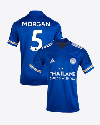 Wes Morgan - Leicester City TSWY Home Shirt 2020/21 - Kids
