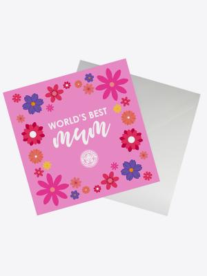 Leicester City Best Mum Card