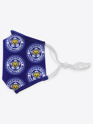 Leicester City Face Covering - Multi Crest