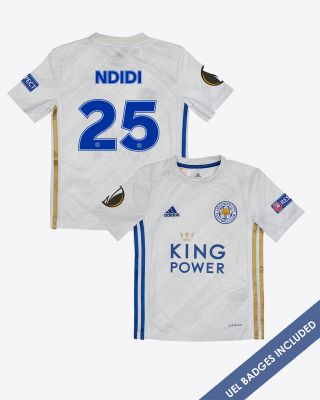 Wilfred Ndidi - Leicester City Away Shirt 2020/21 - Kids UEL