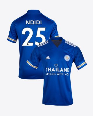 Wilfred Ndidi - Leicester City TSWY Home Shirt 2020/21 - Kids