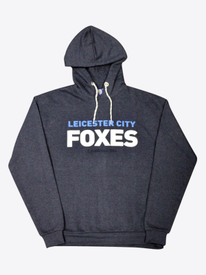Leicester City Mens Navy Orwell Hoody