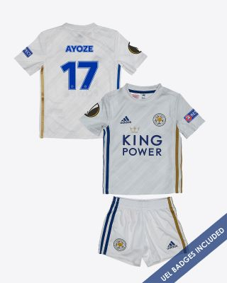 Perez Ayoze - Leicester City Away Shirt 2020/21 - Mini Kit UEL