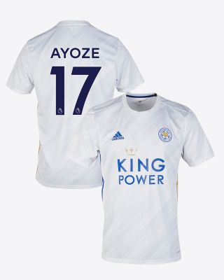 Perez Ayoze - Leicester City White Away Shirt 2020/21