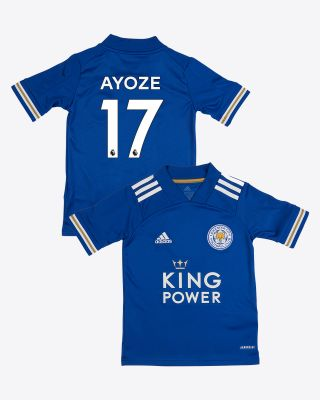 Perez Ayoze - Leicester City King Power Home Shirt 2020/21 - Kids