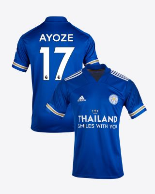Perez Ayoze - Leicester City TSWY Home Shirt 2020/21 - Kids