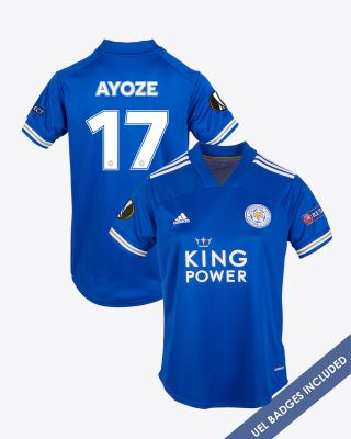 Perez Ayoze - Leicester City King Power Home Shirt 2020/21 - Womens UEL