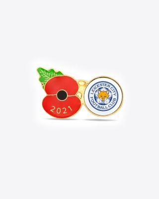 Leicester City 2021 Poppy Badge