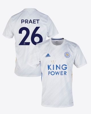 Dennis Praet - Leicester City White Away Shirt 2020/21