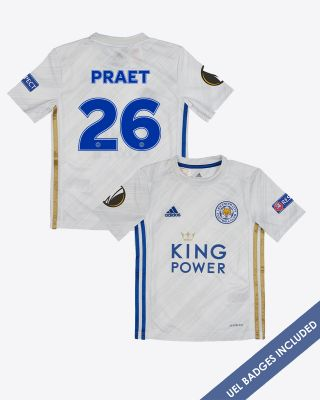 Dennis Praet - Leicester City Away Shirt 2020/21 - Kids UEL