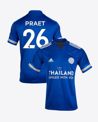 Dennis Praet - Leicester City TSWY Home Shirt 2020/21 - Kids