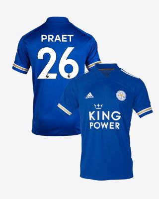 Dennis Praet - Leicester City King Power Home Shirt 2020/21