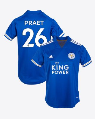 Dennis Praet - Leicester City King Power Home Shirt 2020/21 - Womens