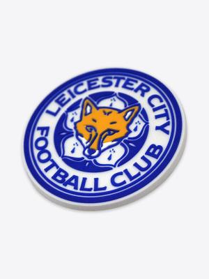 Leicester City PVC Crest Magnet