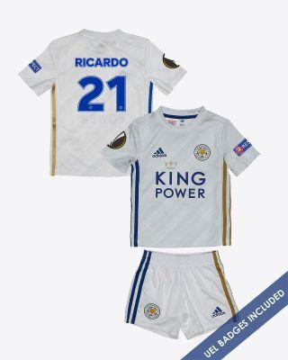 Pereira Ricardo  - Leicester City Away Shirt 2020/21 - Mini Kit UEL