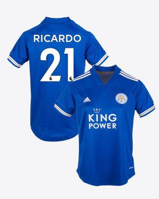 Pereira Ricardo  - Leicester City King Power Home Shirt 2020/21 - Womens