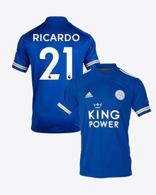 Pereira Ricardo  - Leicester City King Power Home Shirt 2020/21