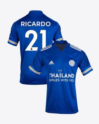 Pereira Ricardo  - Leicester City TSWY Home Shirt 2020/21