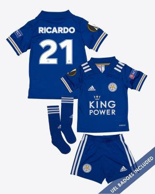Pereira Ricardo  - Leicester City King Power Home Shirt 2020/21 - Mini Kit UEL