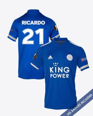 Pereira Ricardo  - Leicester City King Power Home Shirt 2020/21 - UEL