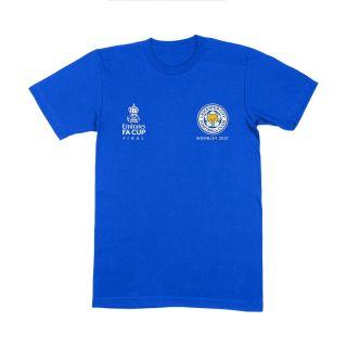 FA Cup Final Blue Wembley T-Shirt