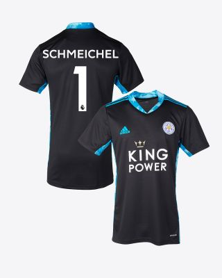 Kasper Schmeichel - Leicester City King Power S/S Goalkeeper Shirt Black 2020/21