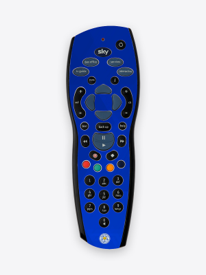Leicester City Sky+ Remote Skin