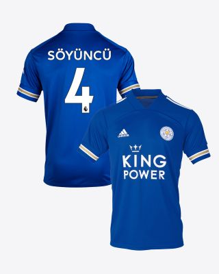 Çağlar Soyuncu - Leicester City King Power Home Shirt 2020/21