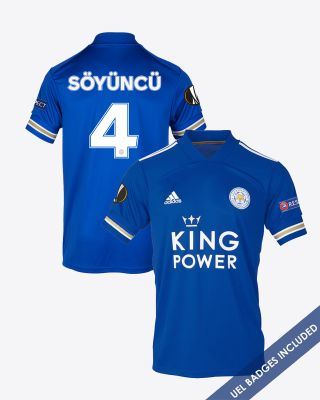 Çağlar Soyuncu - Leicester City King Power Home Shirt 2020/21 - UEL