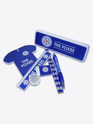 Leicester City Shirt Shaped Stationery Set