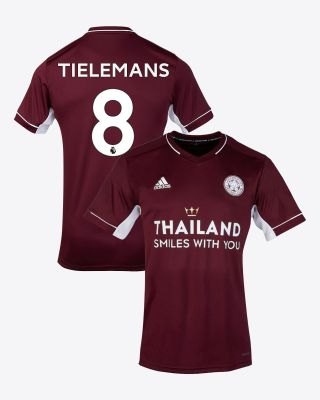 Youri Tielemans - Leicester City Maroon Away Shirt 2020/21
