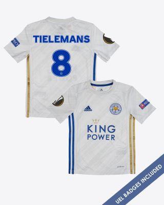 Youri Tielemans - Leicester City Away Shirt 2020/21 - Kids UEL